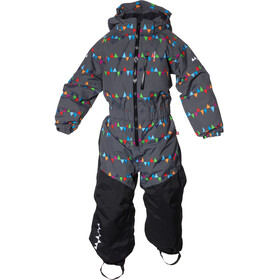 Isbjörn Penguin Snowsuit Kids Peaks Grey